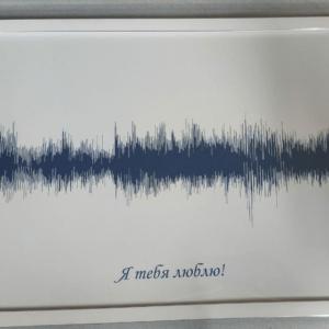 Картина голоса А2 в рамке