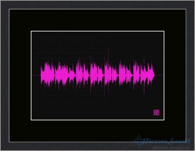 Картина с изображением голоса (16)