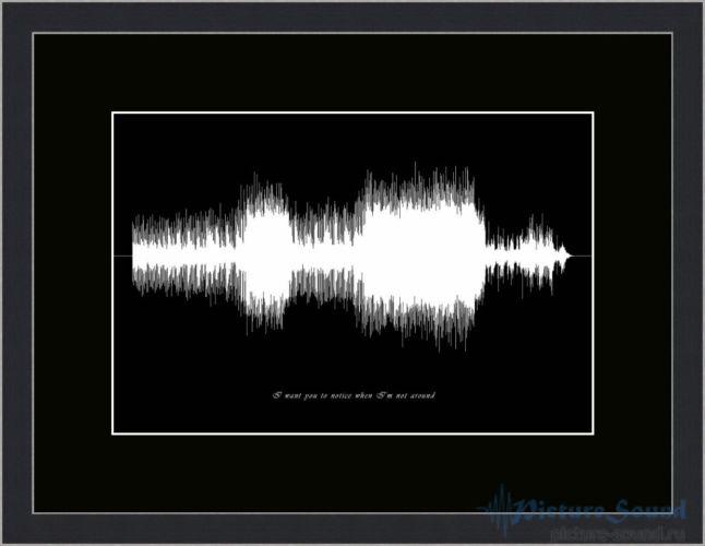 Картина с изображением голоса (17)
