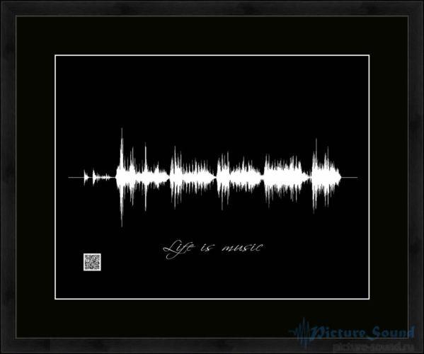 Картина с изображением голоса (4)