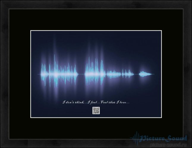 Картина с изображением голоса (8)