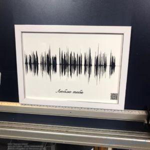 Картина голоса А3 в рамке